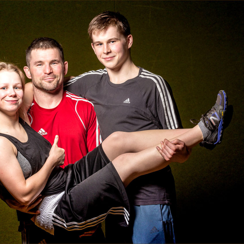 Sport-Familie