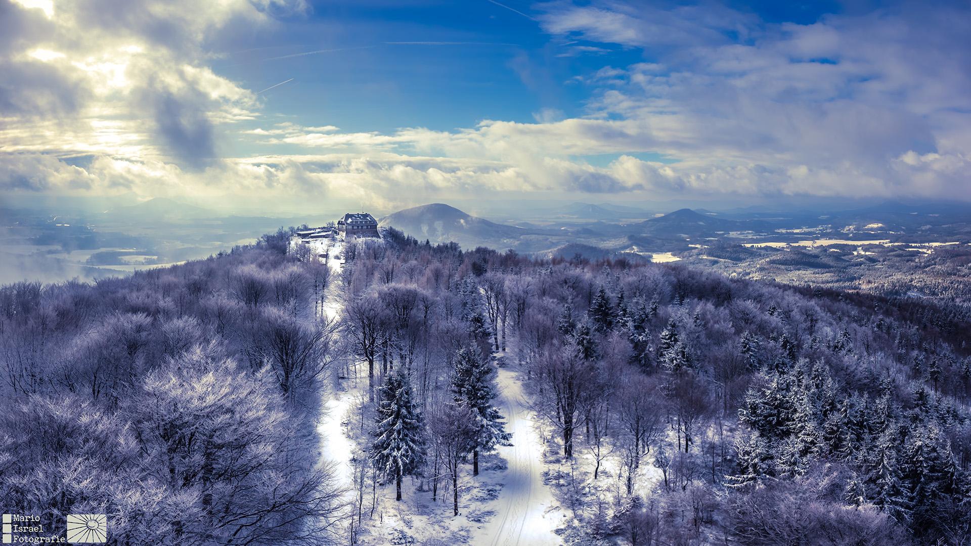 Blick vom HochwaldTurm