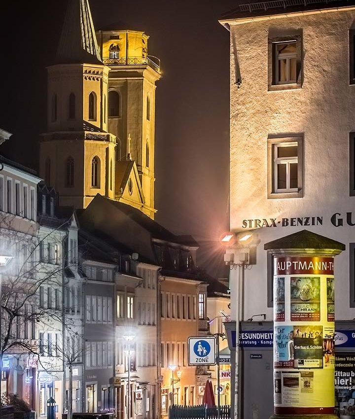 Bautz´ner Straße & Johanniskirche