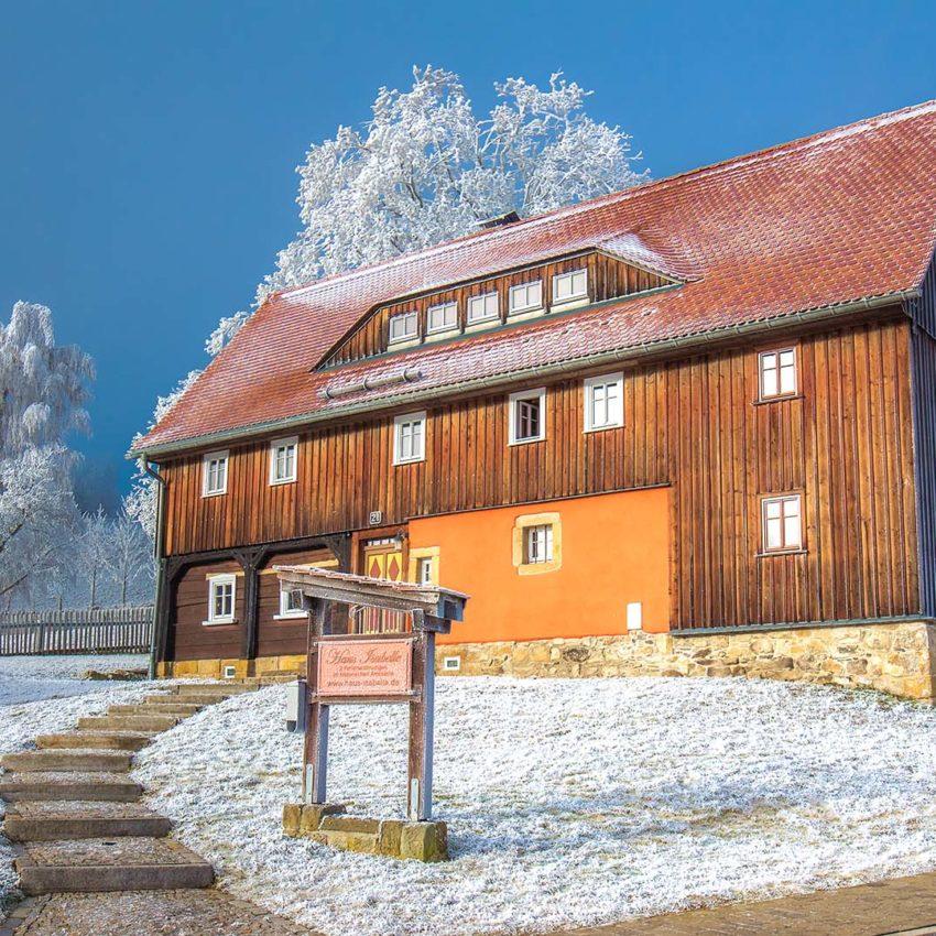 """Ferienhaus """"Haus Isabelle"""" Oybin/Hain"""