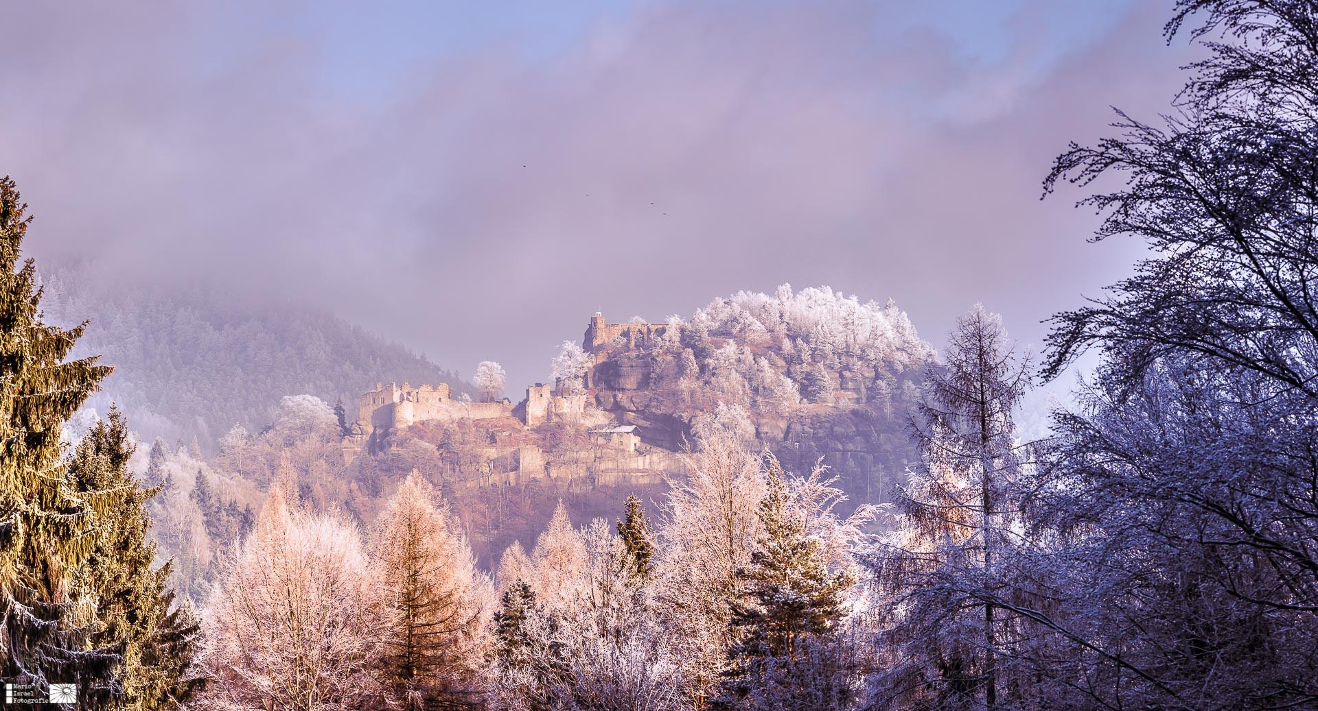 Neujahr 2017 am Berg Oybin