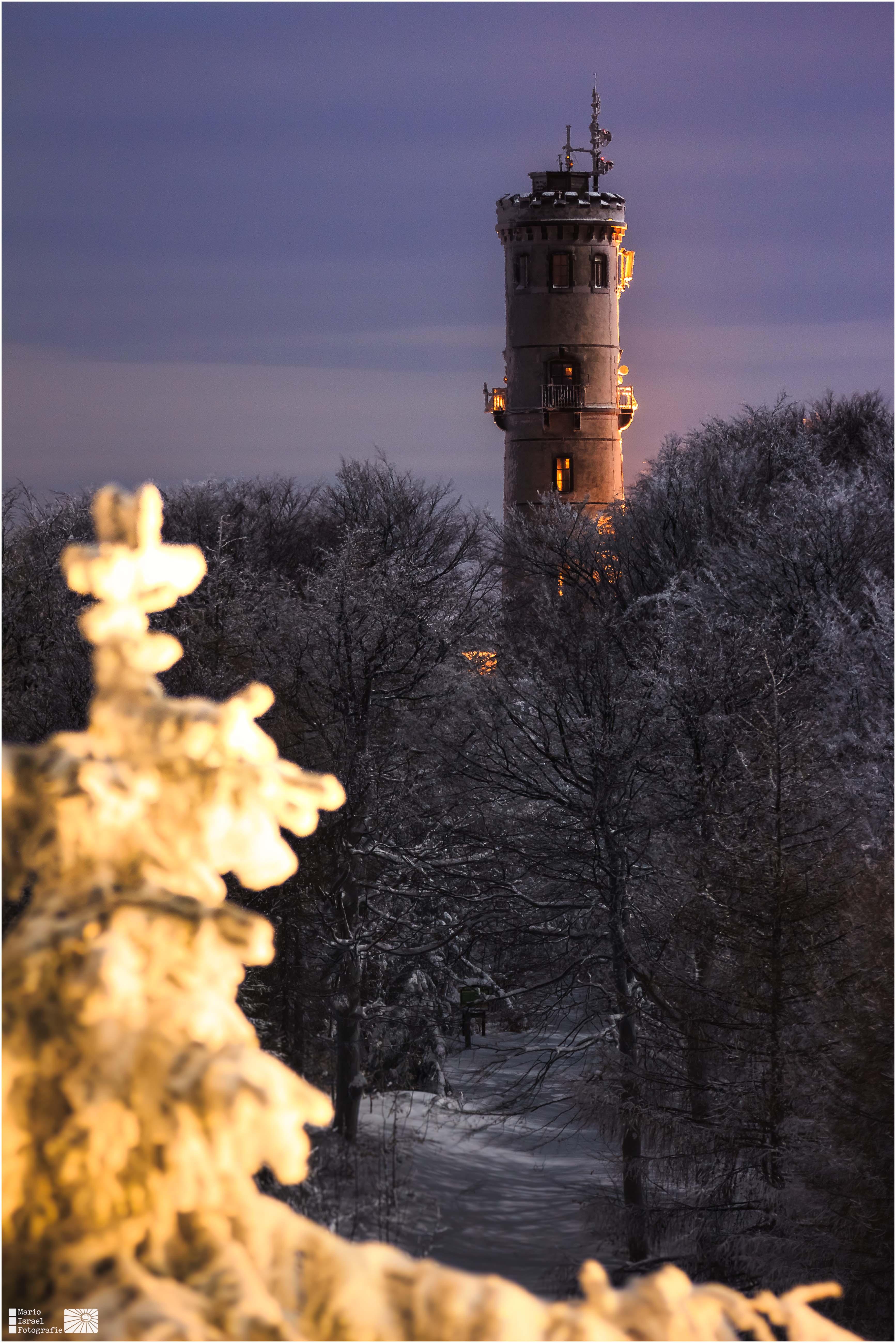 Vollmondnacht am Hochwaldturm