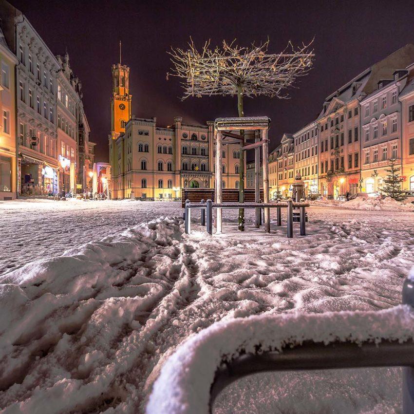 Der Zittauer Marktplatz