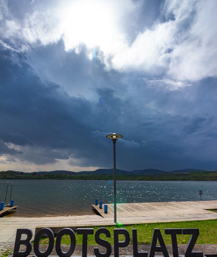 Gewitterstimmung am Olbersdorfer See