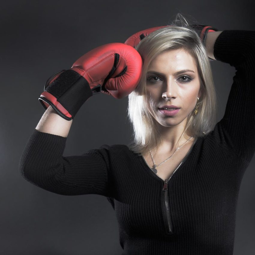 Kampfsportlerin