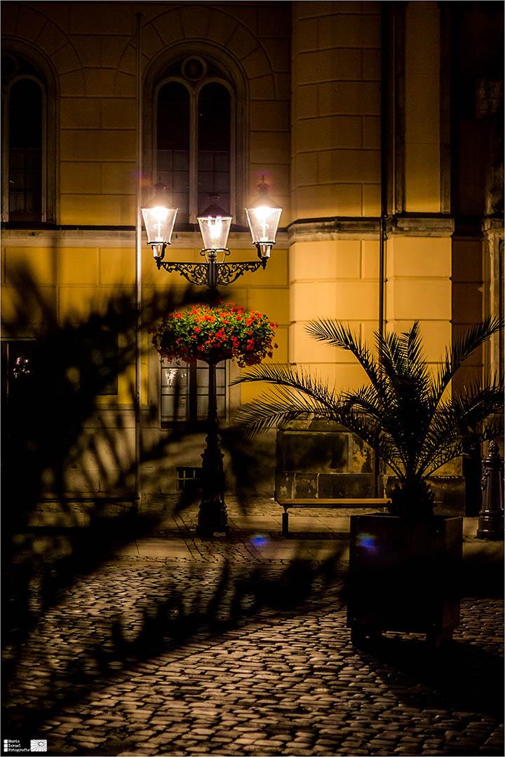 Mitternacht am Rathaus Zittau