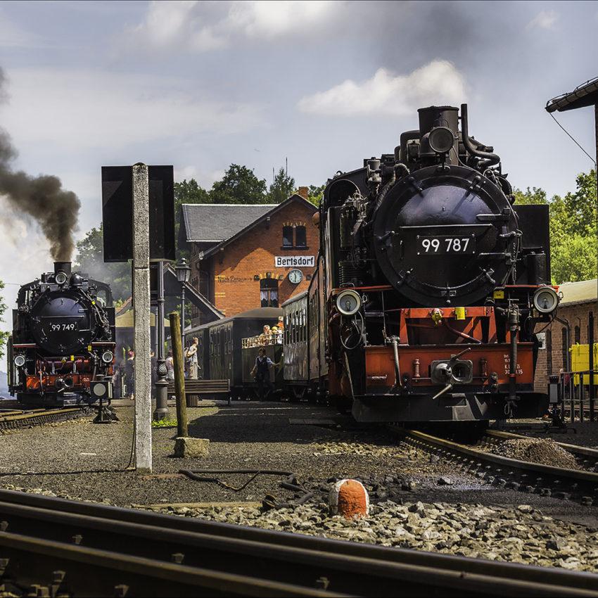 Bimmelbahnhof Bertsdorf