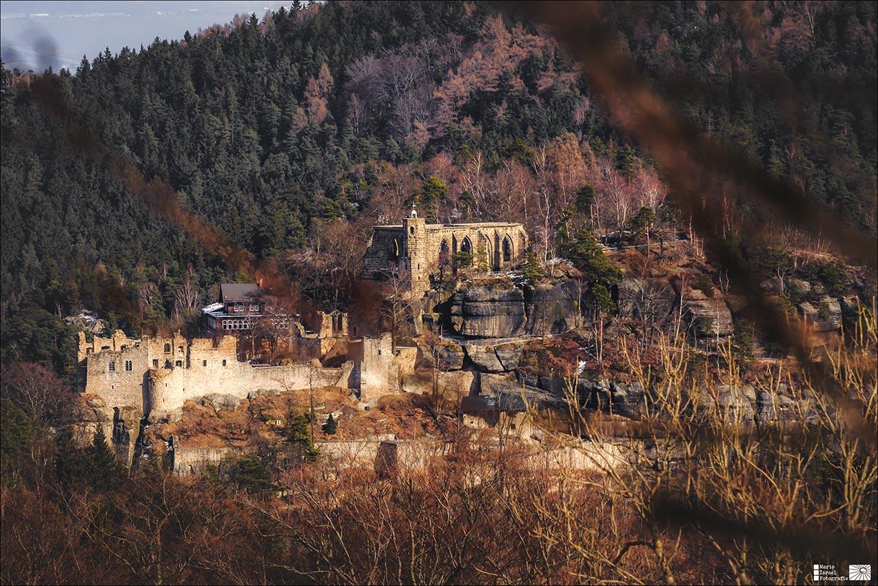 Berg und Burg- und Klosterruine Oybin