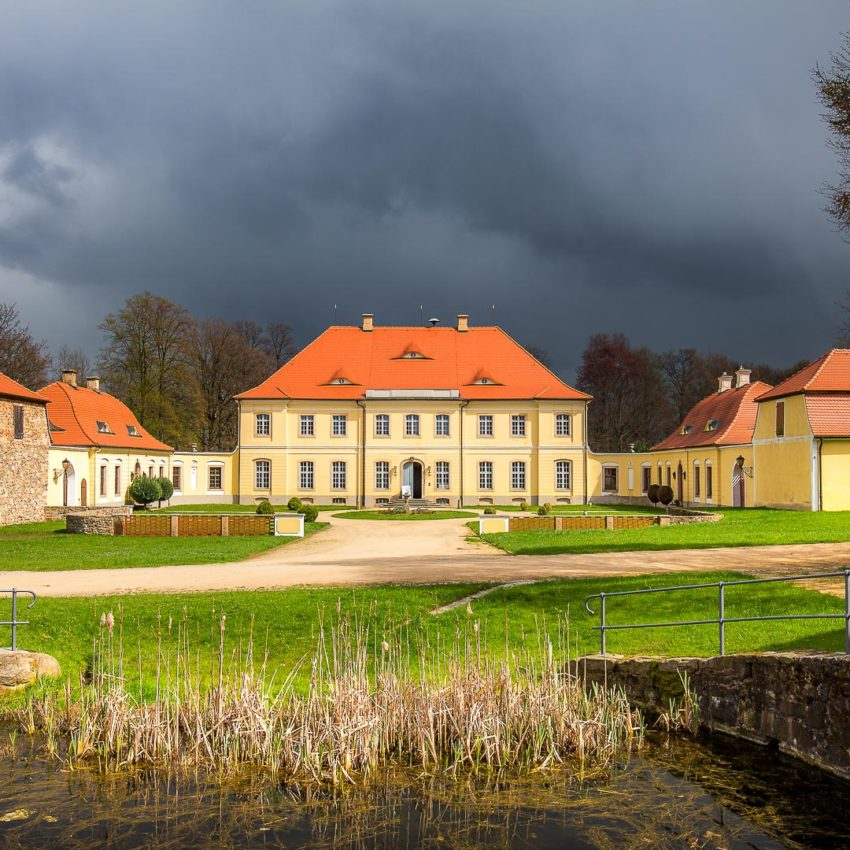 Ostersonntag am Schloss Königshain