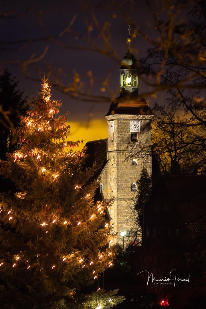 Neujahr in Jonsdorf