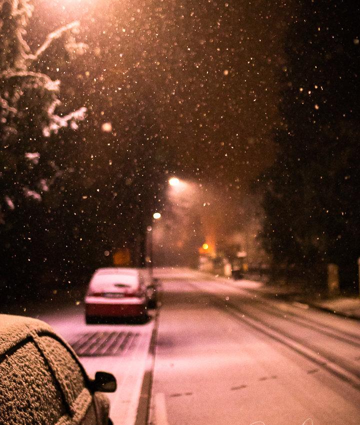 Erstes Schneetreiben Winter ´18/´19